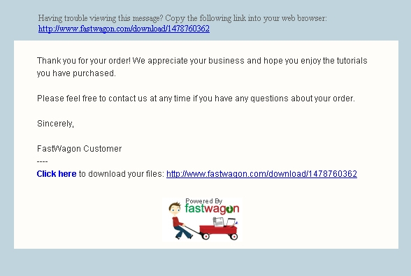 Email Response To Customers How It Works Fastwagon